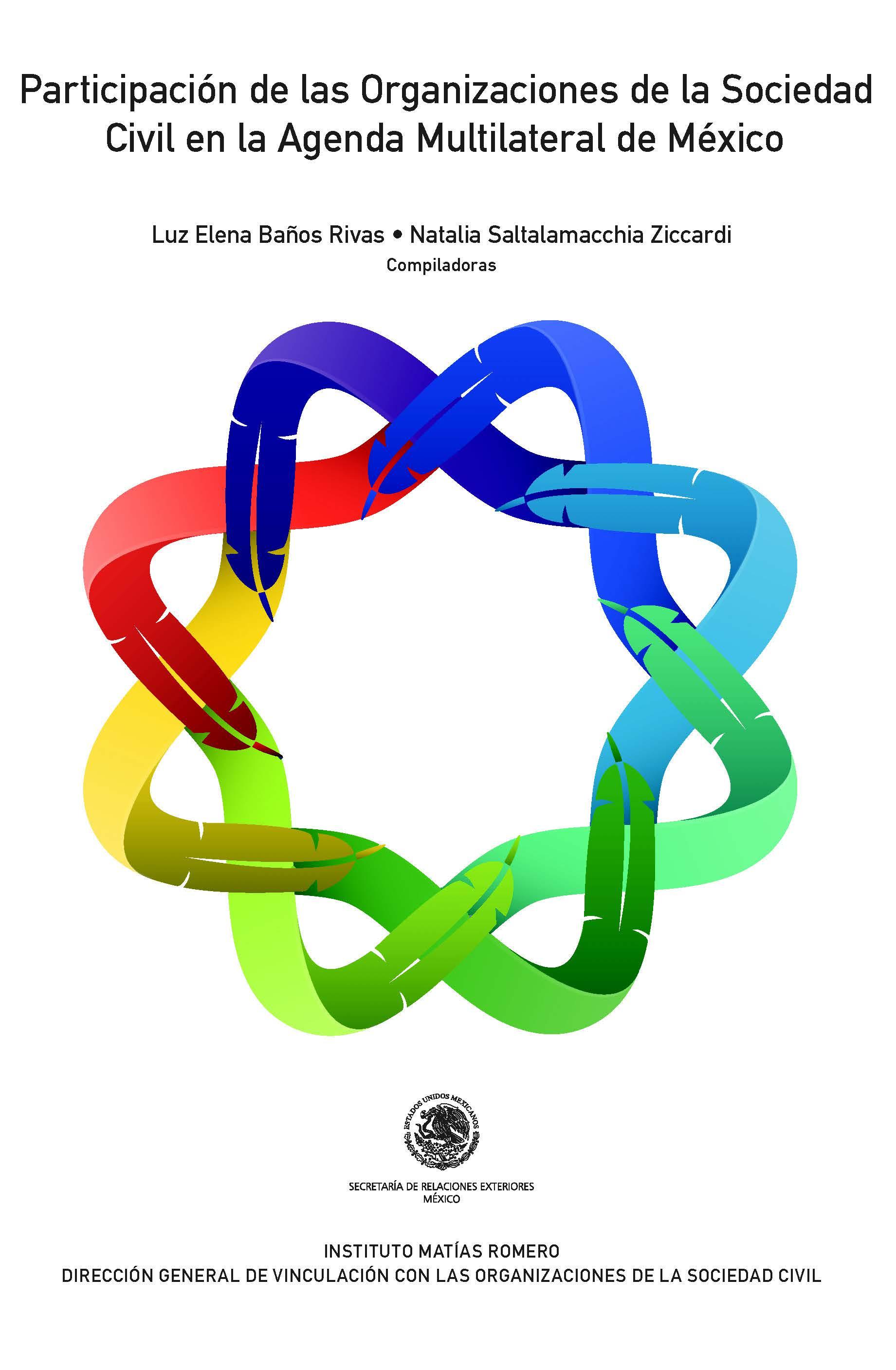 Participación de las Organizaciones de la Sociedad Civil en la Agenda Multilateral de México Book Cover
